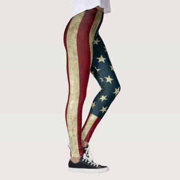 USA Themed Simply American Leggings