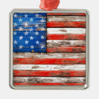 Simply American Metal Ornament