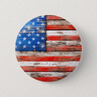 Simply American Pinback Button
