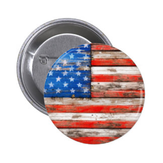 Simply American Pinback Button