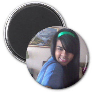 Simply beautiful 2 inch round magnet