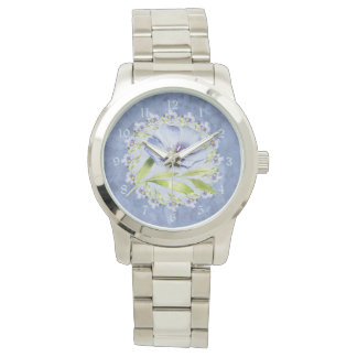 Simply Beautiful Blue Flax Wildflowers Watches