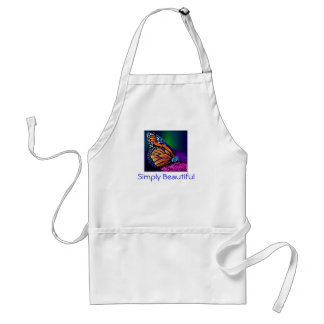 Simply Beautiful - Butterfly Adult Apron
