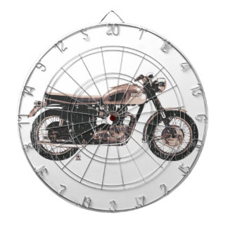Simply Beautiful Classic Motorcycle Dart Board