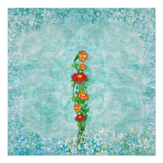 Simply Beautiful Floral Poster