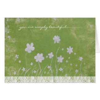 Simply Beautiful Greeting Card