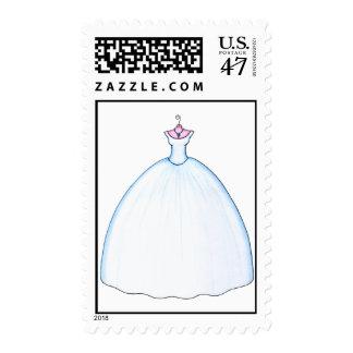 Simply Beautiful Wedding Dress Postage