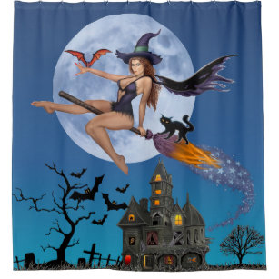 SIMPLY BEWITCHN SHOWER CURTAIN