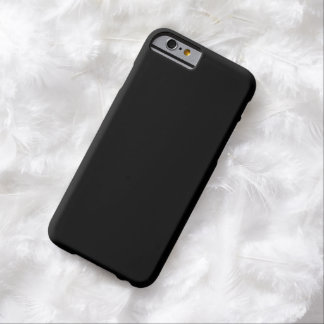 Simply Black Barely There iPhone 6 Case