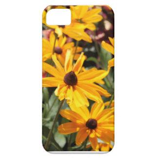 Simply Black Eye Susan iPhone SE/5/5s Case