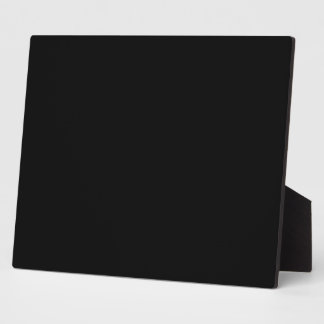 Simply Black Display Plaques