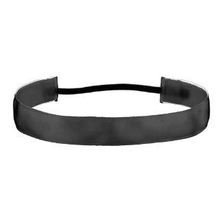 Simply Black Solid Color Athletic Headbands