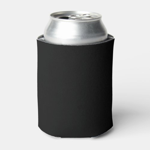 Simply Black Solid Color Customize It Can Cooler