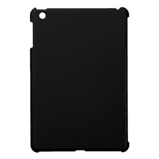 Simply Black Solid Color Customize It Case For The iPad Mini