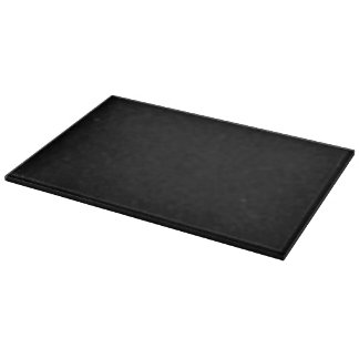 Simply Black Solid Color Customize It Cutting Board