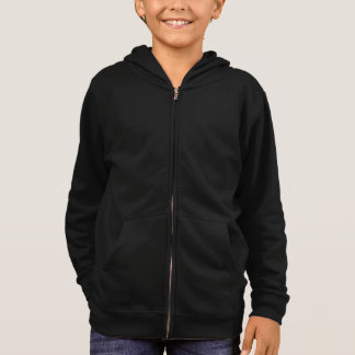 Simply Black Solid Color Customize It Hoodie