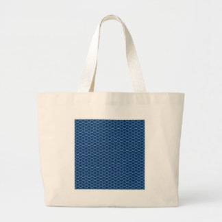 Simply Blue Japanese Wave Pattern Bags