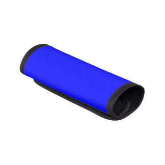 Simply Blue Solid Color Luggage Handle Wrap