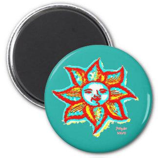Simply Bright Sun Magnet