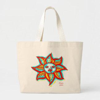 Simply Bright Sunshine Large Tote Bag