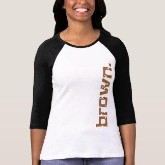 Simply brown - for Senator Scott Brown T Shirt
