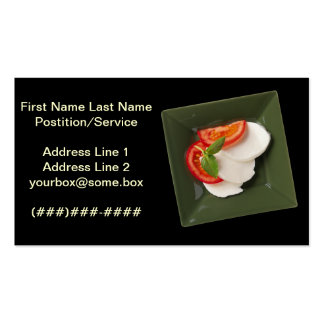 Simply Catering Double-Sided Standard Business Cards (Pack Of 100)