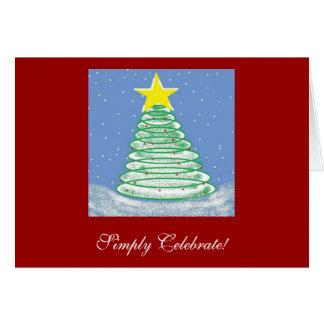 Simply Celebrate! Christmas Card