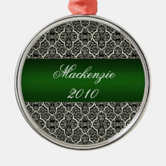 Simply Classic Holiday Damask Ornament