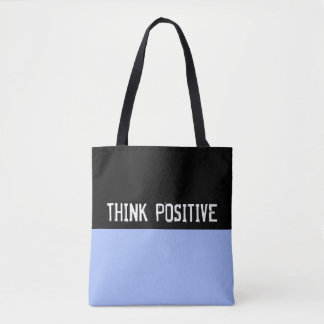 Simply colors LIGHT BLUE & your Text Tote Bag