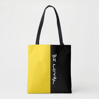 Simply colors SUN YELLOW & your Text Tote Bag