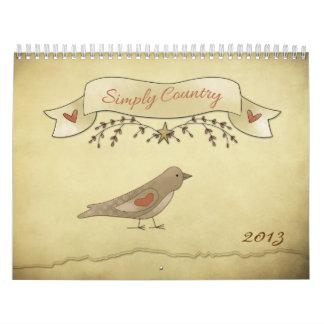 Simply Country Calendar