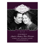 Simply Couture Save The Date Postcard - Purple Postcards