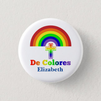 Simply De Colores Pinback Button