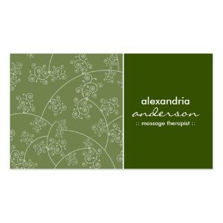 Simply Elegant Custom Business Cards (fern green)