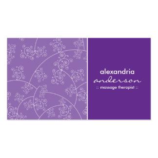 Simply Elegant Custom Business Cards (lavender)
