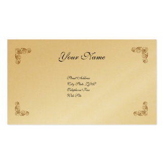 Simply Elegant Double-Sided Standard Business Cards (Pack Of 100)