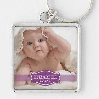 Simply Elegant Mommy's Keychain (purple)
