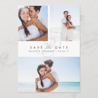 Simply Elegant Multi Photo Save the Date