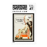 Simply Fabulous Art Deco Party Postage
