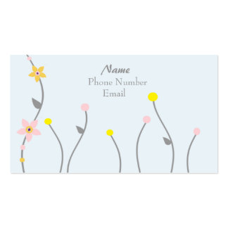 Simply Floral Business Card