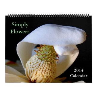 Simply Flowers, 2014 Calendar