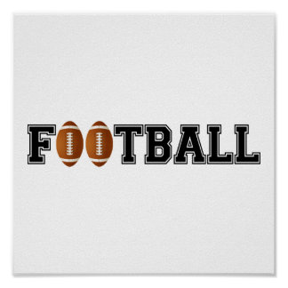 Simply Football Poster