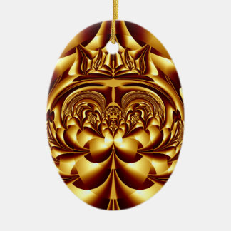 Simply Golden Ornament