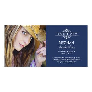 Simply Gorgeous Graduation Announcement Photo Card Template