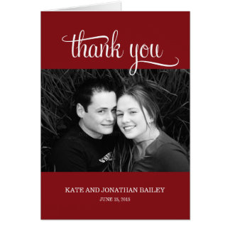 Simply Grateful Thank You Card
