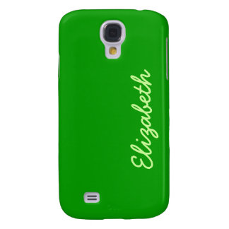 Simply Green Solid Color Samsung S4 Case