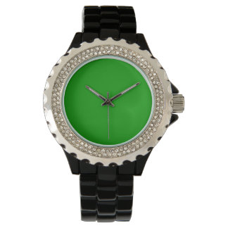 Simply Green Solid Color Watch