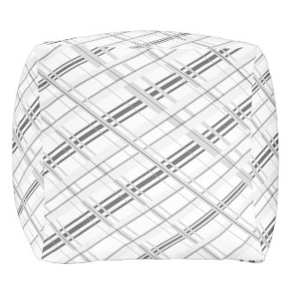 Simply Grey Pouf Cube