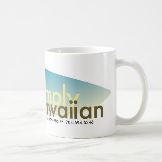Simply Hawaiian Surfboard Logo Mug