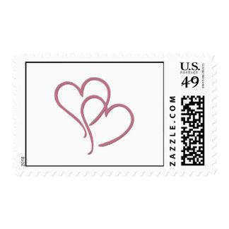 Simply hearts postage